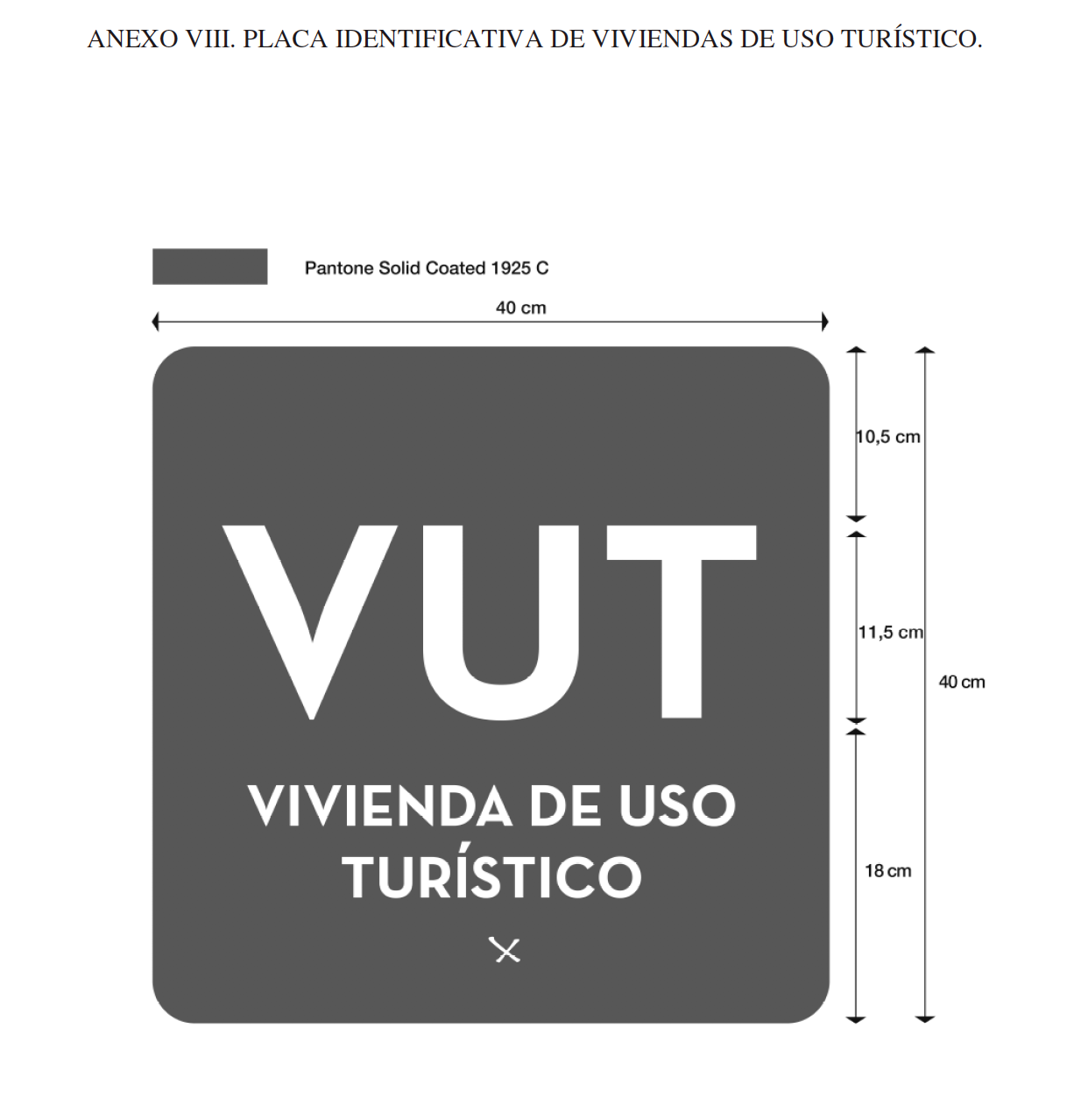 Castilla-La Mancha: Placa identificativa de viviendas de uso turístico (VUT)