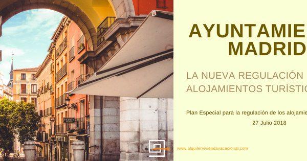 AYUNTAMIENTO DE MADRID: La nueva regulación de los alojamientos turísticos de Carmena
