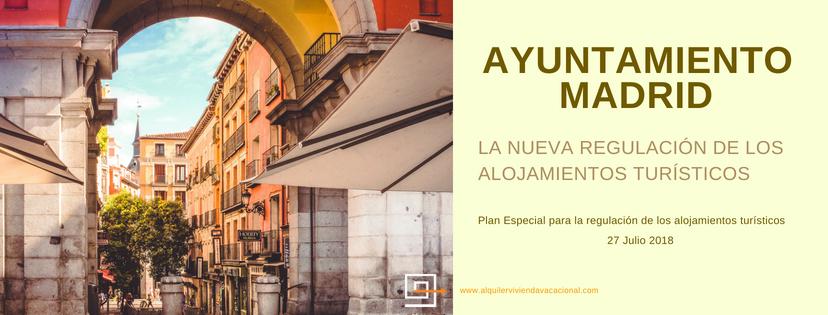 La regulación turística por el Ayuntamiento de Madrid