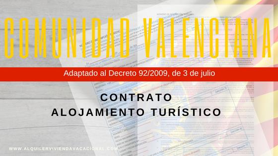 contrato de vivienda turística