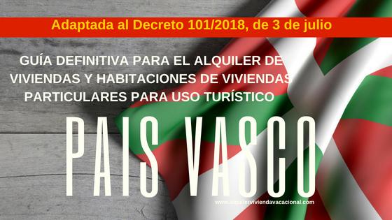 País Vasco: Guía definitiva para el alquiler de viviendas y habitaciones de viviendas particulares para uso turístico