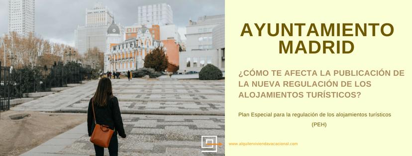 La regulación de los alquileres turísticos por el Ayuntamiento de Madrid