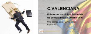 Informe municipal favorable de compatibilidad de uso turístico