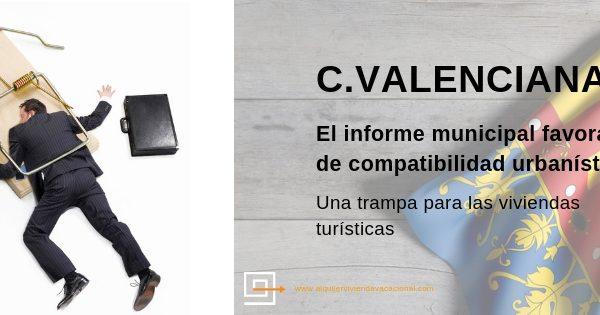"""Informe municipal de compatibilidad urbanística en la Comunidad Valenciana: """"te digo que no y me pagas por ello"""""""