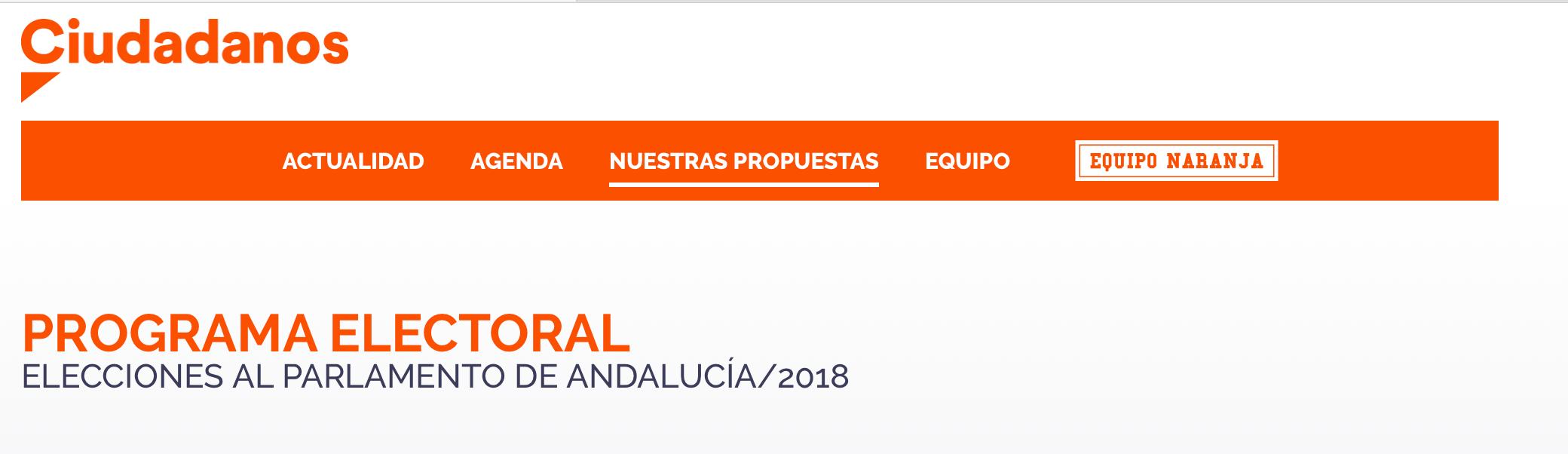 Elecciones andaluzas 2018 y viviendas turísticas