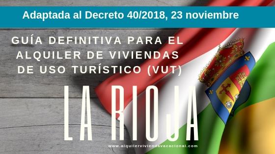VUT Adaptada al Decreto 40/2018, 23 noviembre
