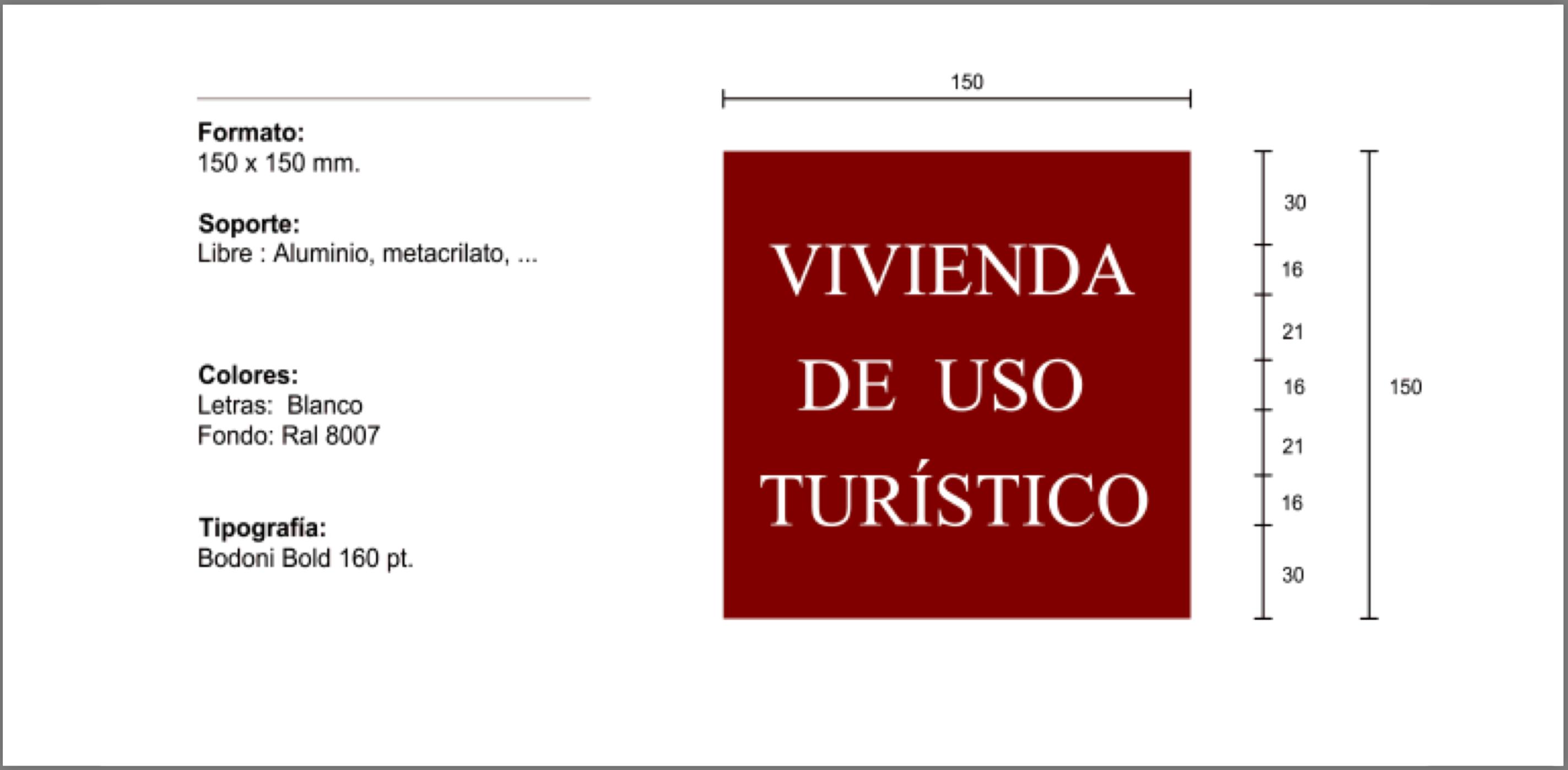 Placas identificativas VUT La Rioja