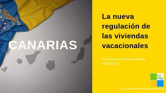 Ley del Turismo de Canarias y las VV